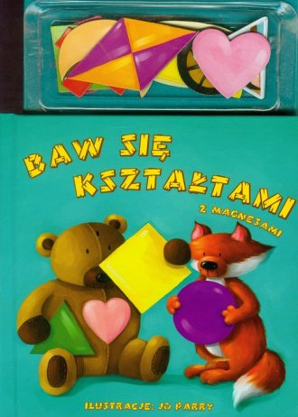 Baw się kształtami z magnesami - okładka książki