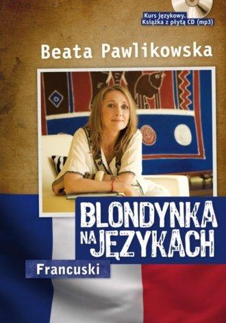 Blondynka na językach. Francuski - okładka podręcznika