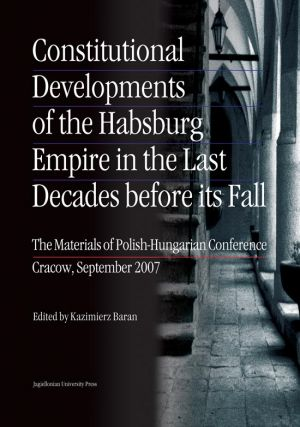 Constitutional Developments of - okładka książki