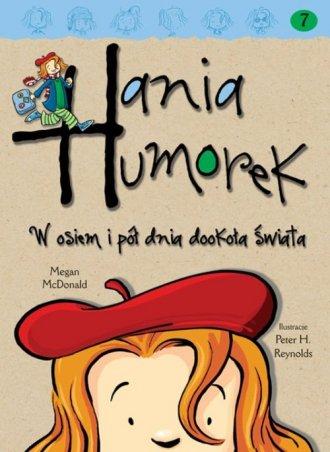 Hania Humorek w osiem i pół dnia - okładka książki