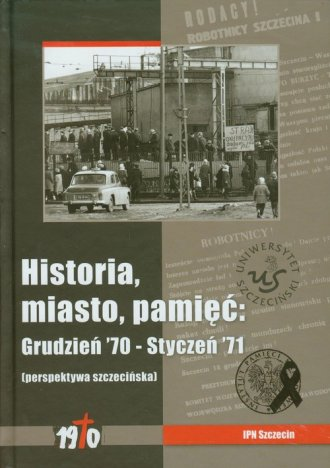 Historia, miasto, pamięć. Grudzień - okładka książki