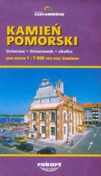 Kamień Pomorski (plan miasta) - okładka książki