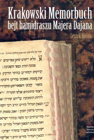 Krakowski Memorbuch bejt hamidraszu - okładka książki