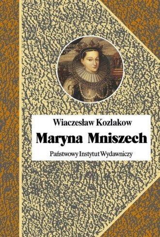 Maryna Mniszech - okładka książki
