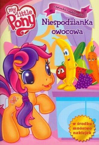 Mój kucyk Pony. Niespodzianka owocowa - okładka książki