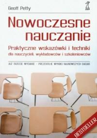 Nowoczesne nauczanie - okładka książki