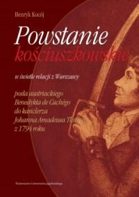 Powstanie kościuszkowskie w świetle - okładka książki