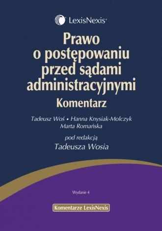 Prawo o postępowaniu przed sądami - okładka książki