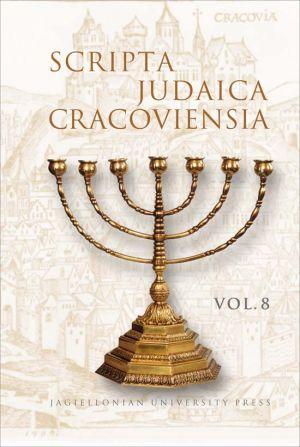 Scripta Judaica Cracoviensia. Vol. - okładka książki