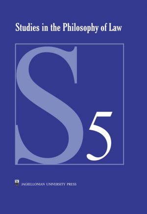 Studies in the Philosophy of Law, - okładka książki