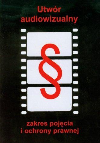Utwór audiowizualny - okładka książki