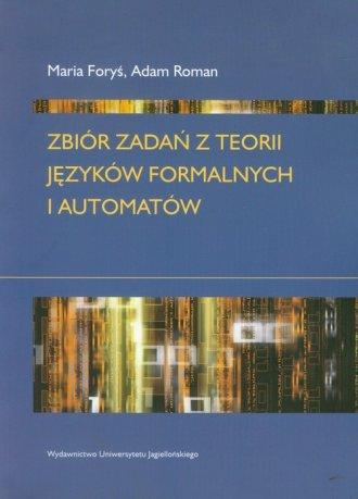 Zbiór zadań z teorii języków formalnych - okładka książki