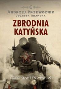 Zbrodnia katyńska - okładka książki
