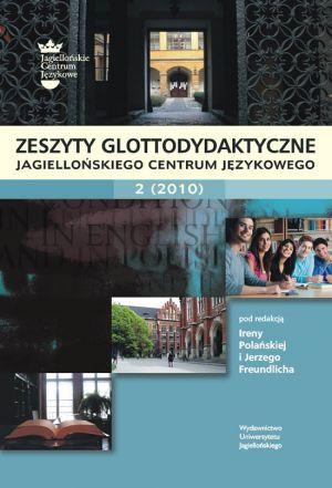 Zeszyty Glottodydaktyczne Jagiellońskiego - okładka książki