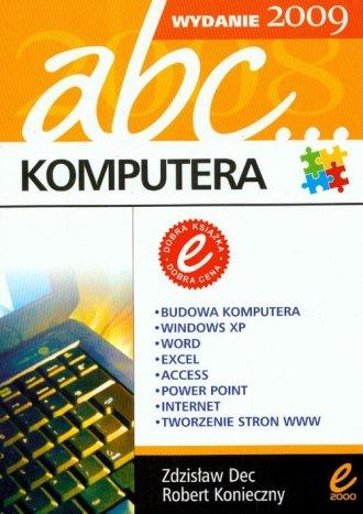 Abc komputera 2009 - okładka książki