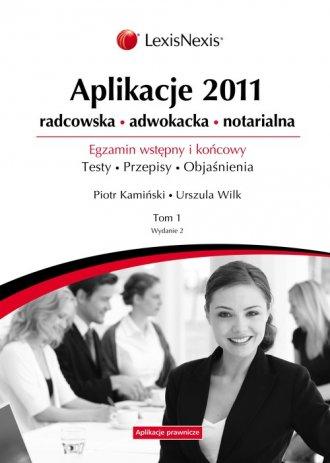 Aplikacje 2011. Tom 1 - okładka książki