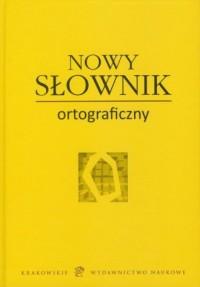 Nowy słownik ortograficzny - okładka książki