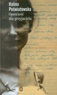 Opowieść dla przyjaciela - Halina - okładka książki
