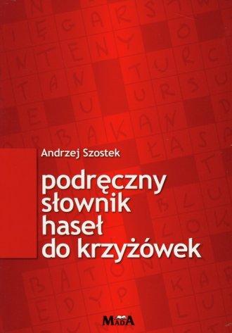 Podręczny słownik haseł do krzyżówek - okładka książki