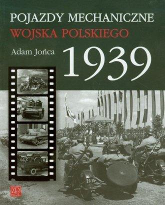 Pojazdy mechaniczne Wojska Polskiego - okładka książki