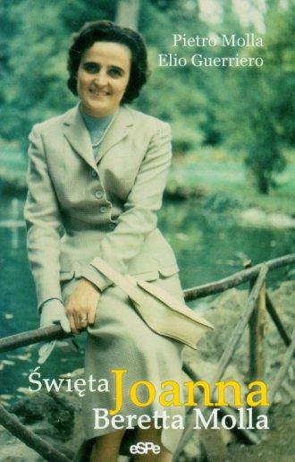 Święta Joanna Beretta Molla - okładka książki