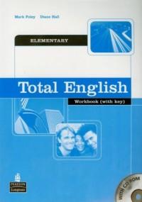 Total English Elementary Workbook (+ CD) - okładka podręcznika