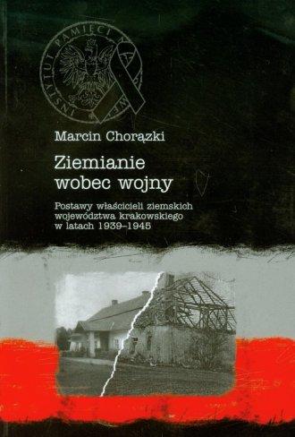 Ziemianie wobec wojny - okładka książki
