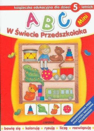 ABC. W Świecie Przedszkolaka. Książeczka - okładka podręcznika