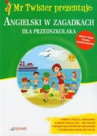 Angielski w zagadkach dla przedszkolaka - okładka podręcznika