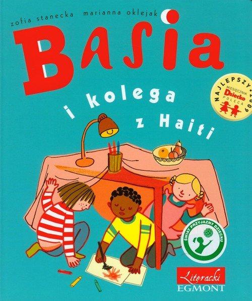 Basia i kolega z Haiti - okładka książki