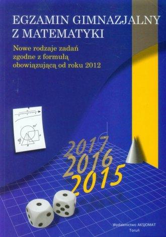 Egzamin gimnazjalny z matematyki - okładka podręcznika