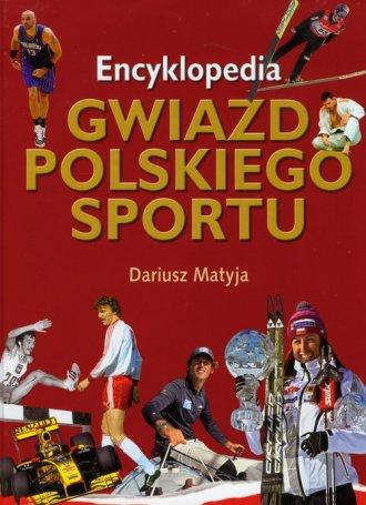 Encyklopedia gwiazd polskiego sportu - okładka książki