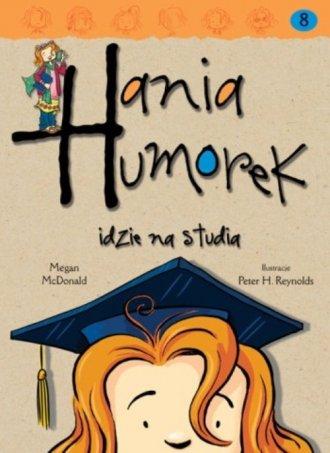 Hania Humorek idzie na studia - okładka książki
