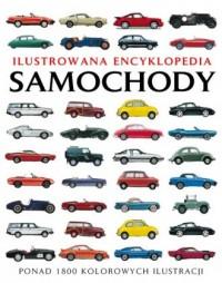 Ilustrowana encyklopedia. Samochody - okładka książki