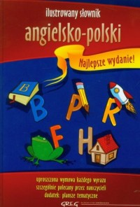Ilustrowany słownik angielsko-polski - okładka książki