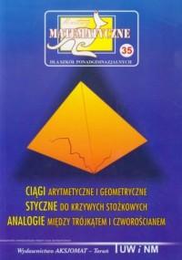 Miniatury matematyczne 35. Ciągi - okładka podręcznika