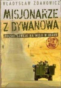 Misjonarze z Dywanowa cz. 2. Jonasz - okładka książki