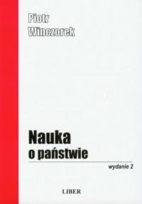 Nauka o państwie - okładka książki