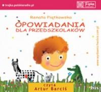 Opowiadania dla przedszkolaków - okładka książki