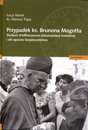 Przypadek ks. Brunona Magotta. - okładka książki
