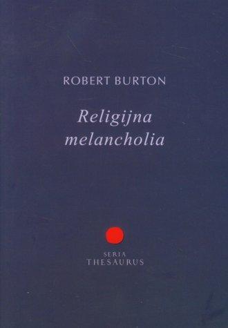 Religijna melancholia - okładka książki