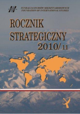 Rocznik strategiczny 2010/2011 - okładka książki