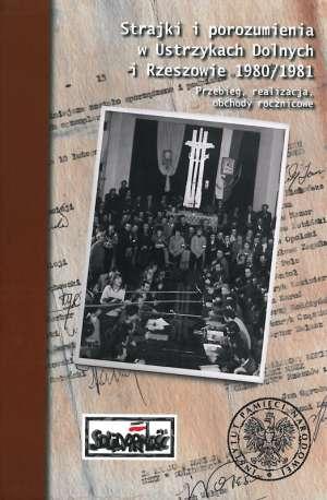 Strajki i porozumienia w Ustrzykach - okładka książki