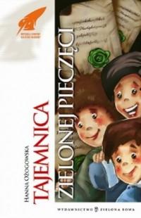 Talemnica zielonej pieczęci - okładka książki