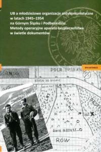UB a młodzieżowe organizacje antykomunistyczne w latach 1945-1954 - okładka książki
