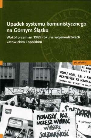 Upadek systemu komunistycznego - okładka książki