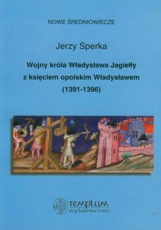 Wojny króla Władysława Jagiełły - okładka książki