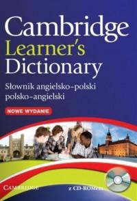 Cambridge Learners Dictionary. - okładka książki
