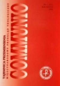 Communio nr 1/2008. Tajemnica Przemienienia - okładka książki
