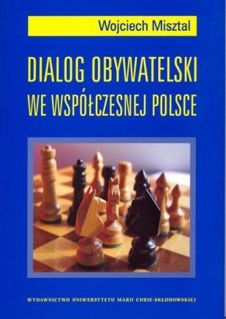 Dialog obywatelski we współczesnej - okładka książki